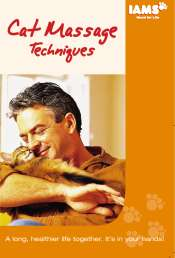 IAMS cat massage brochure