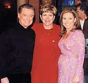 Regis Philbin, Kelly Rippa and Maryjean Ballner